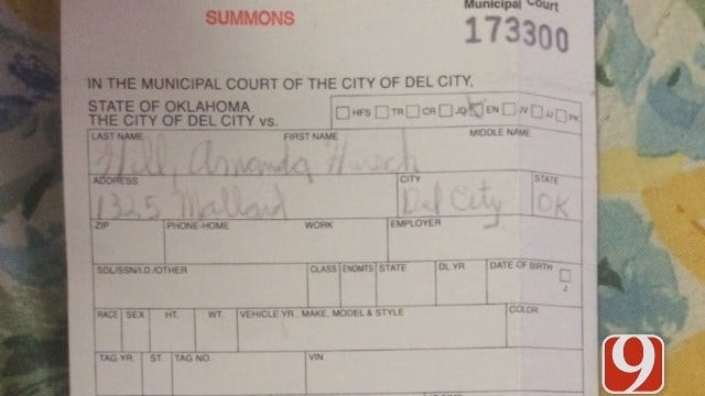 Woman Thinks Facebook Argument Led To Suspicious Ticket From Del City