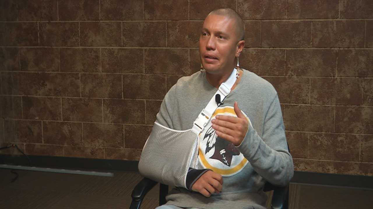 Oklahoma Native American Says He Was Attacked Over Redskins Shirt