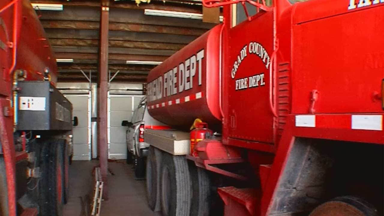 Rural Fire Departments Secure Grant Money From State Ag Department