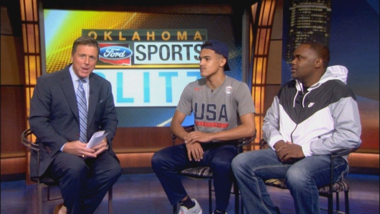 Homegrown Five-Star Recruit Trae Young Sits Down With Dean Blevins