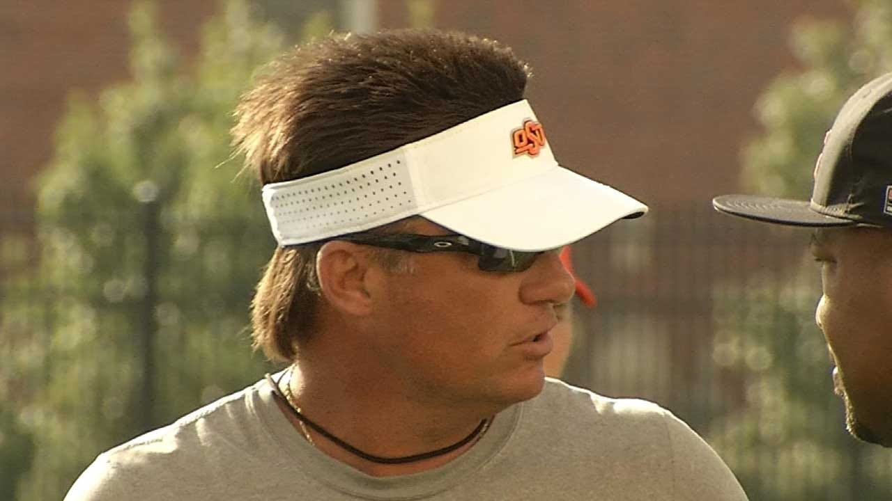 OSU Football: Cowboys Open Fall Camp, Gundy's Hair Continues To Steal The Show