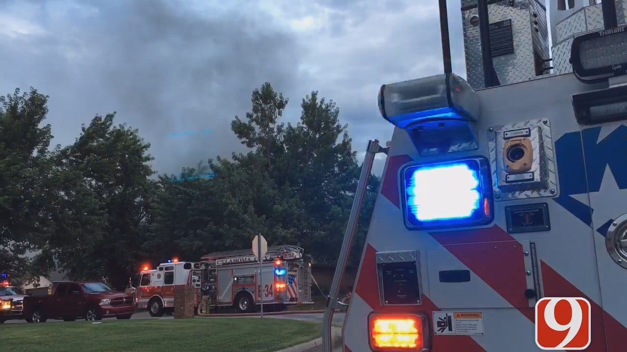 Firefighters Look Into Cause Of NW OKC House Fire