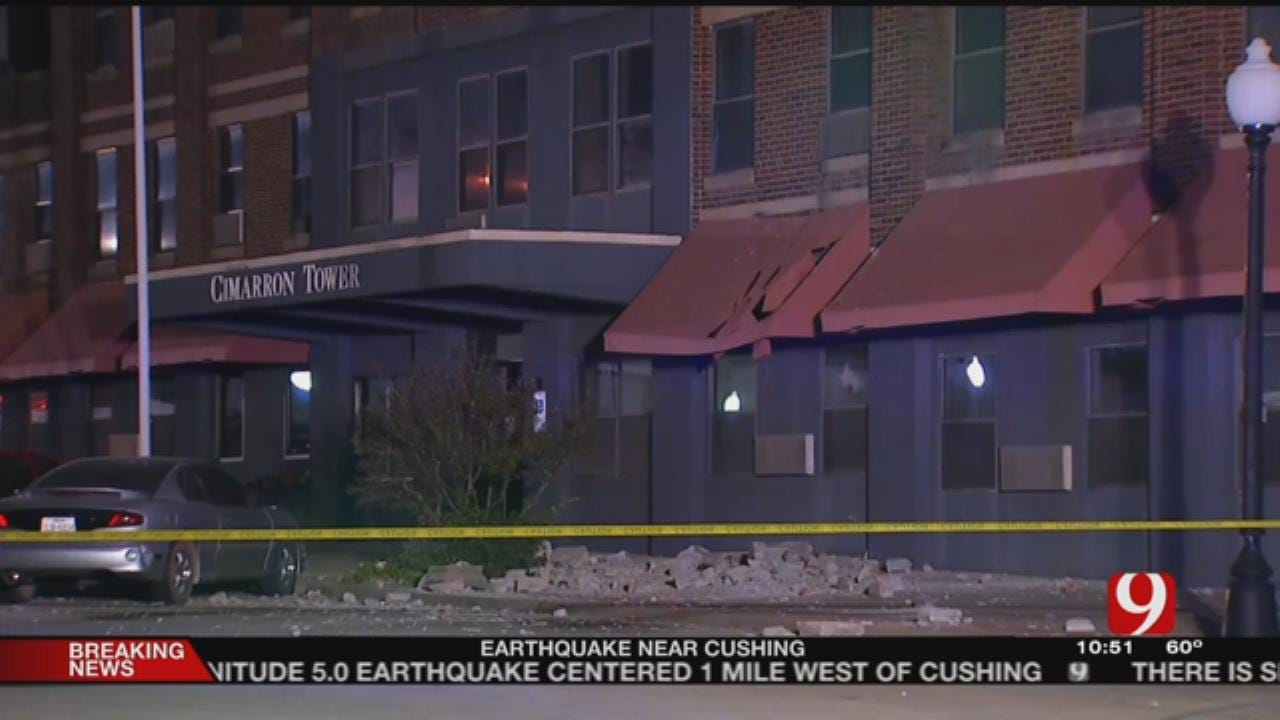 Cushing Residents File Class Action Over Recent Earthquakes