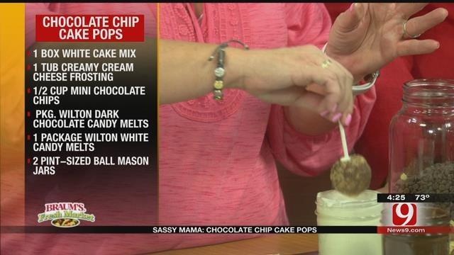 Chocolate Chip Cake Pops