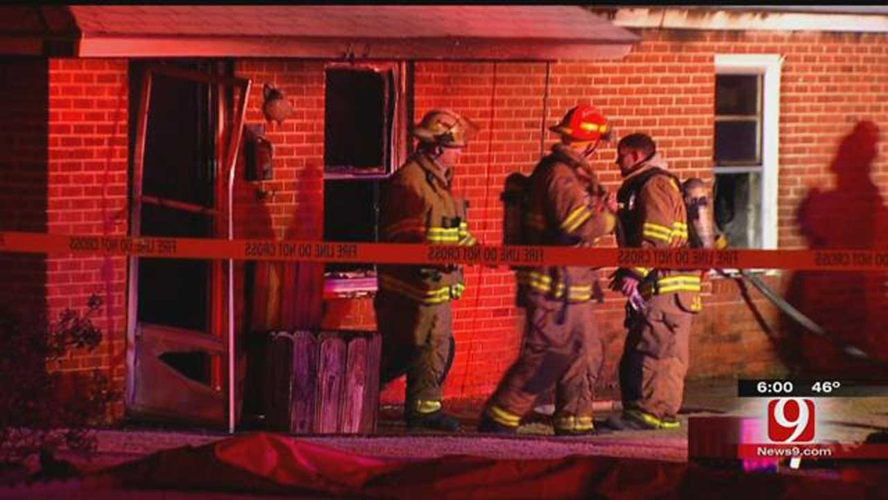 Crews Investigating Fatal House Fire In Midwest City