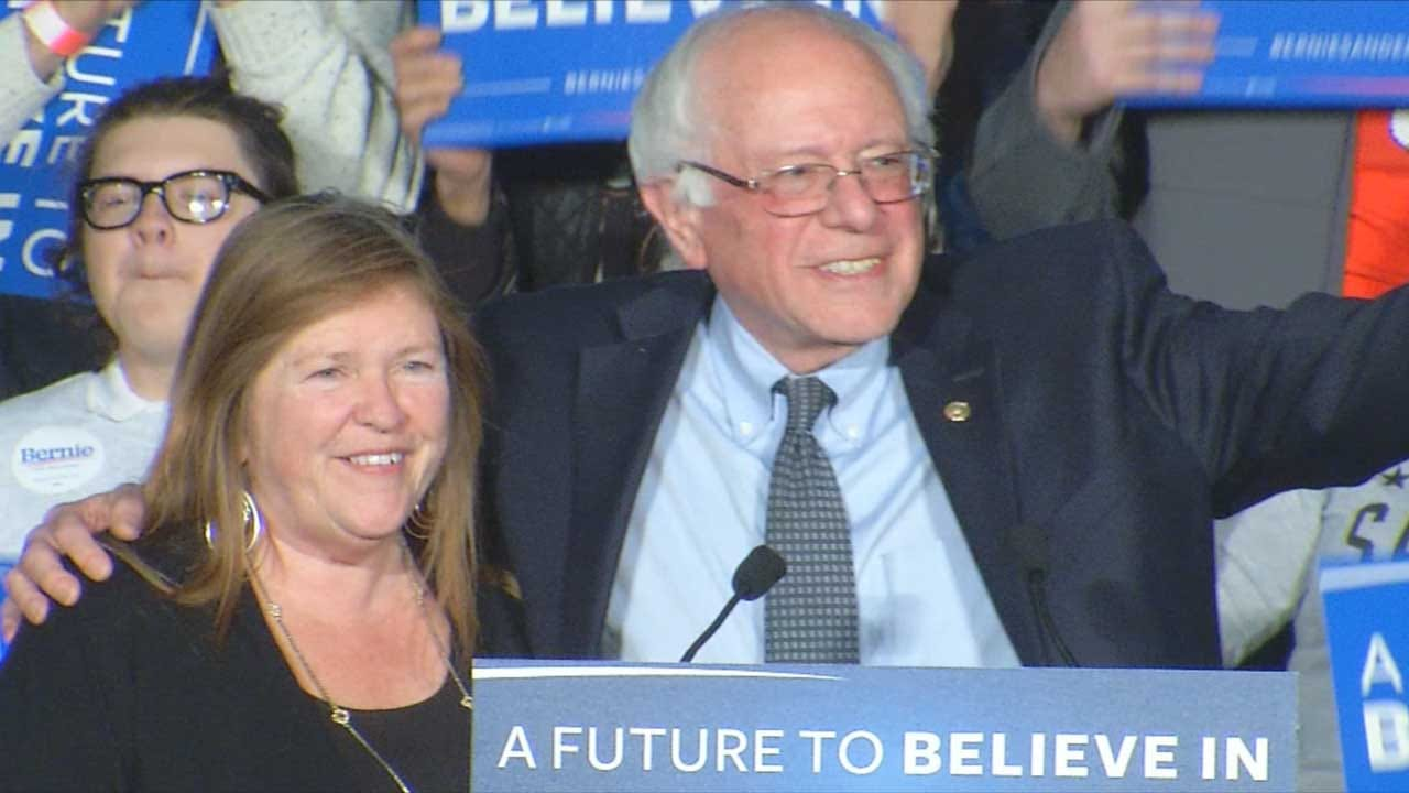 Democratic Presidential Candidate Bernie Sanders Holds Tulsa Rally