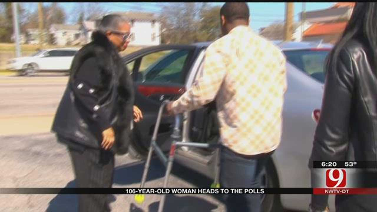 106-Year-Old S.C. Woman Heads To The Polls