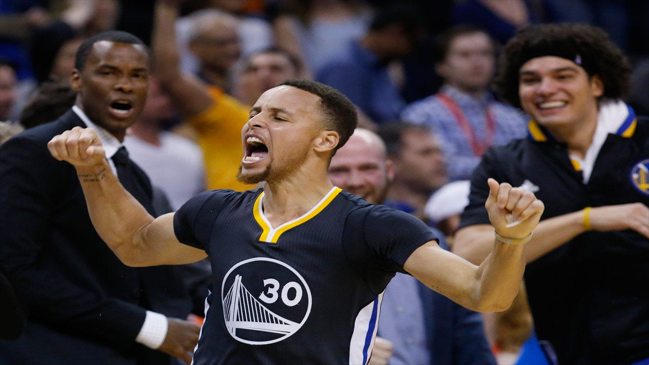 Curry's Game-Winner Stuns Thunder In Overtime