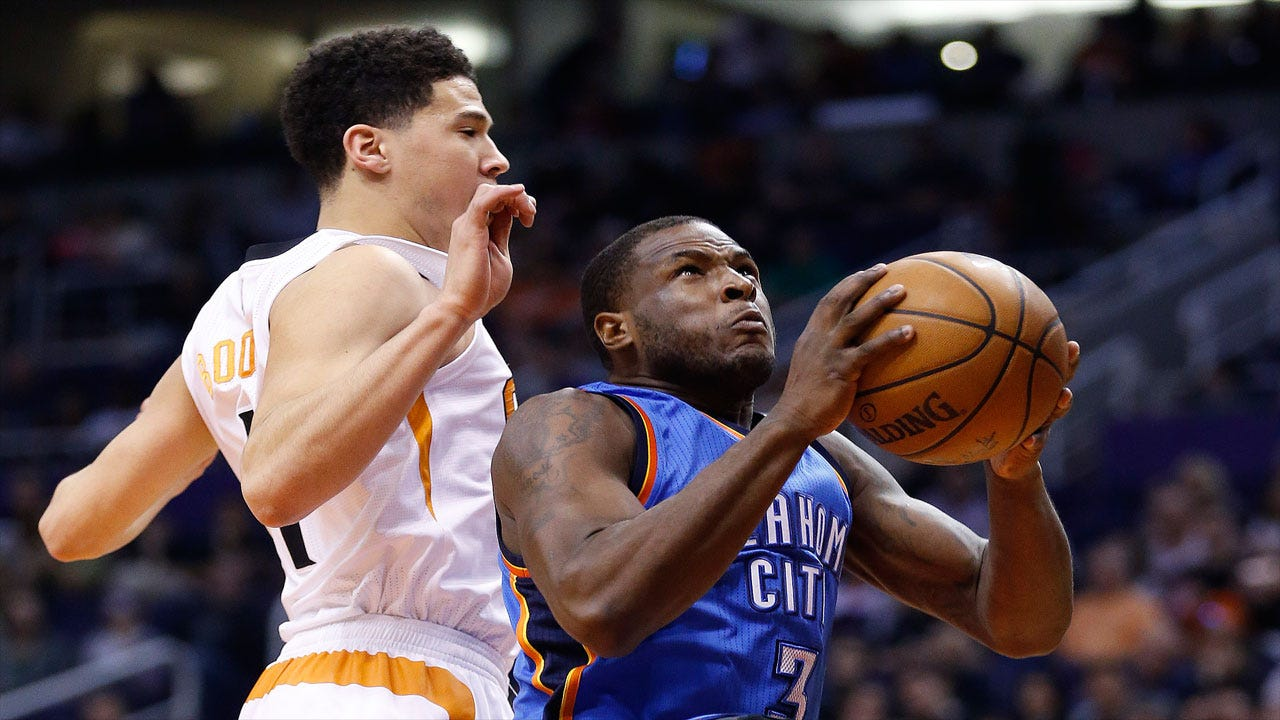 Thunder Too Much For Suns Behind Durant's 32 Points