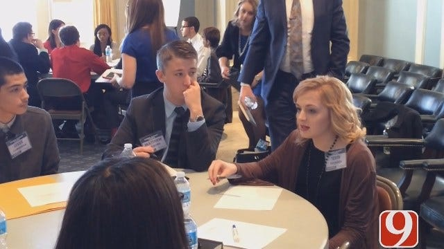 First State Student Advisory Council Meets At Oklahoma Capitol