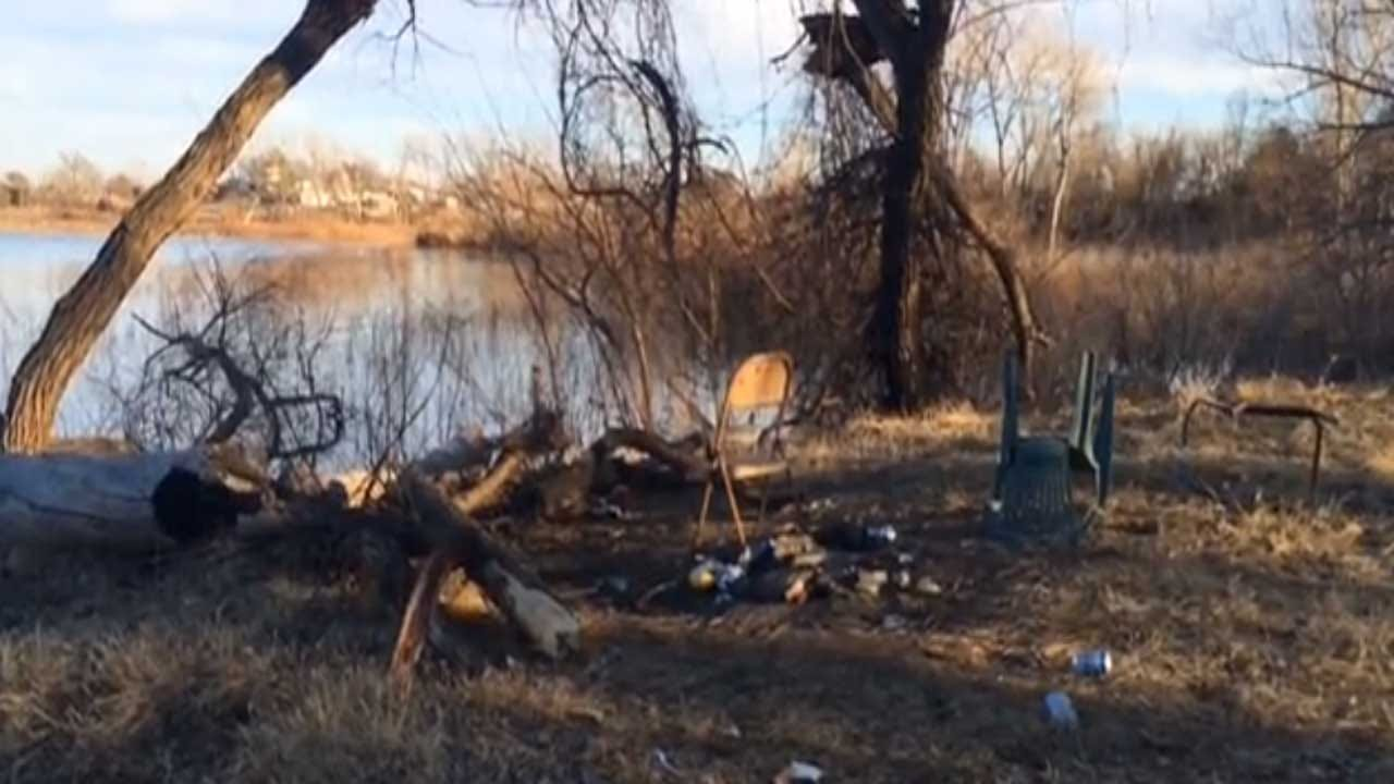Suspects Accused Of Poaching, Trashing Area Near Fort Cobb Lake