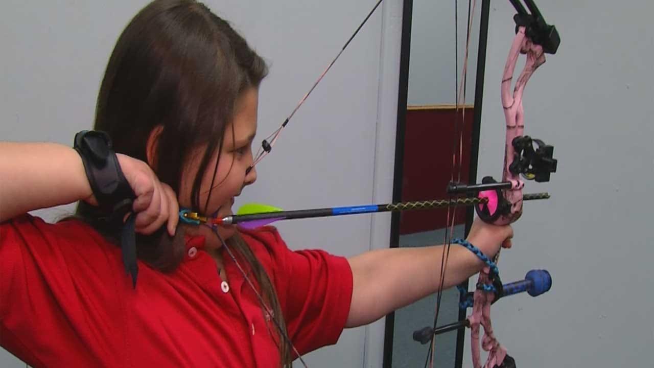 Young Tornado Survivor Finds Joy Through Archery