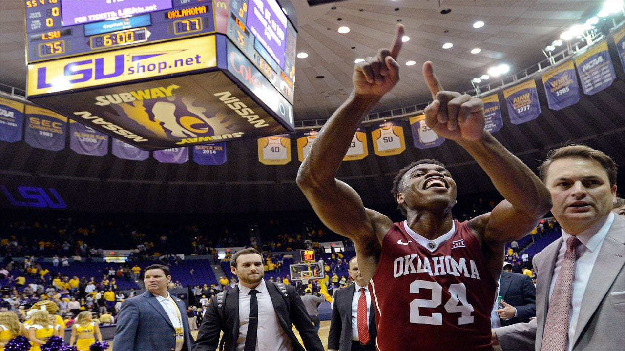 Ballin' In The Bayou: OU Escapes LSU's Upset Bid Behind Buddy's Buckets