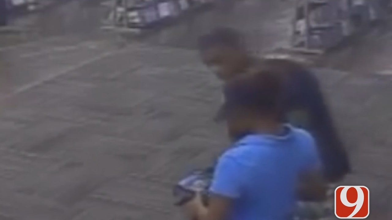 OKC Police Ask For Help In Identifying Two Thieves