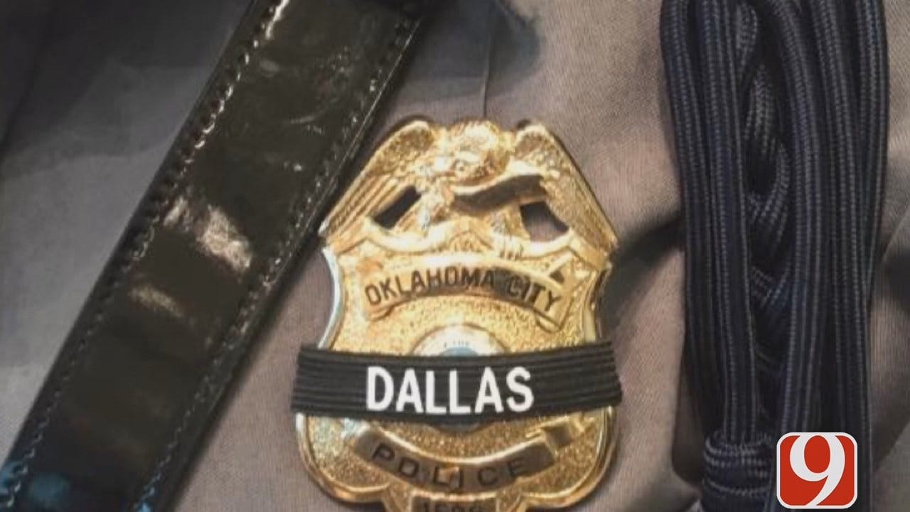 OKCPD Honor Guard, Others Attending Dallas Police Officer Funerals