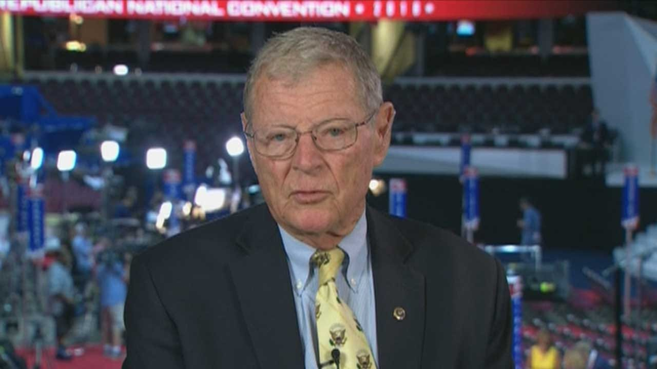 Sen. Jim Inhofe Weighs In On Republican National Convention