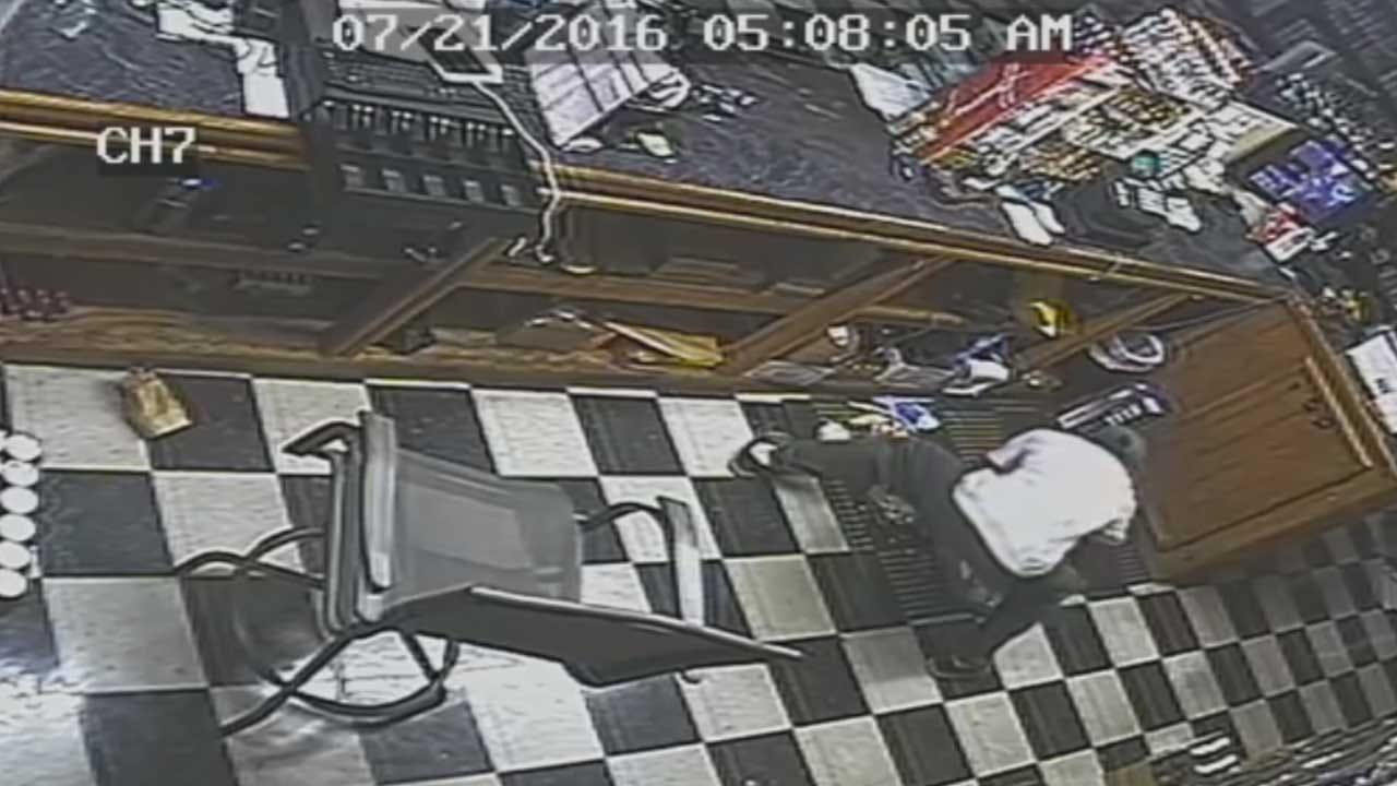 Nicoma Park Business Burglary Caught On Camera