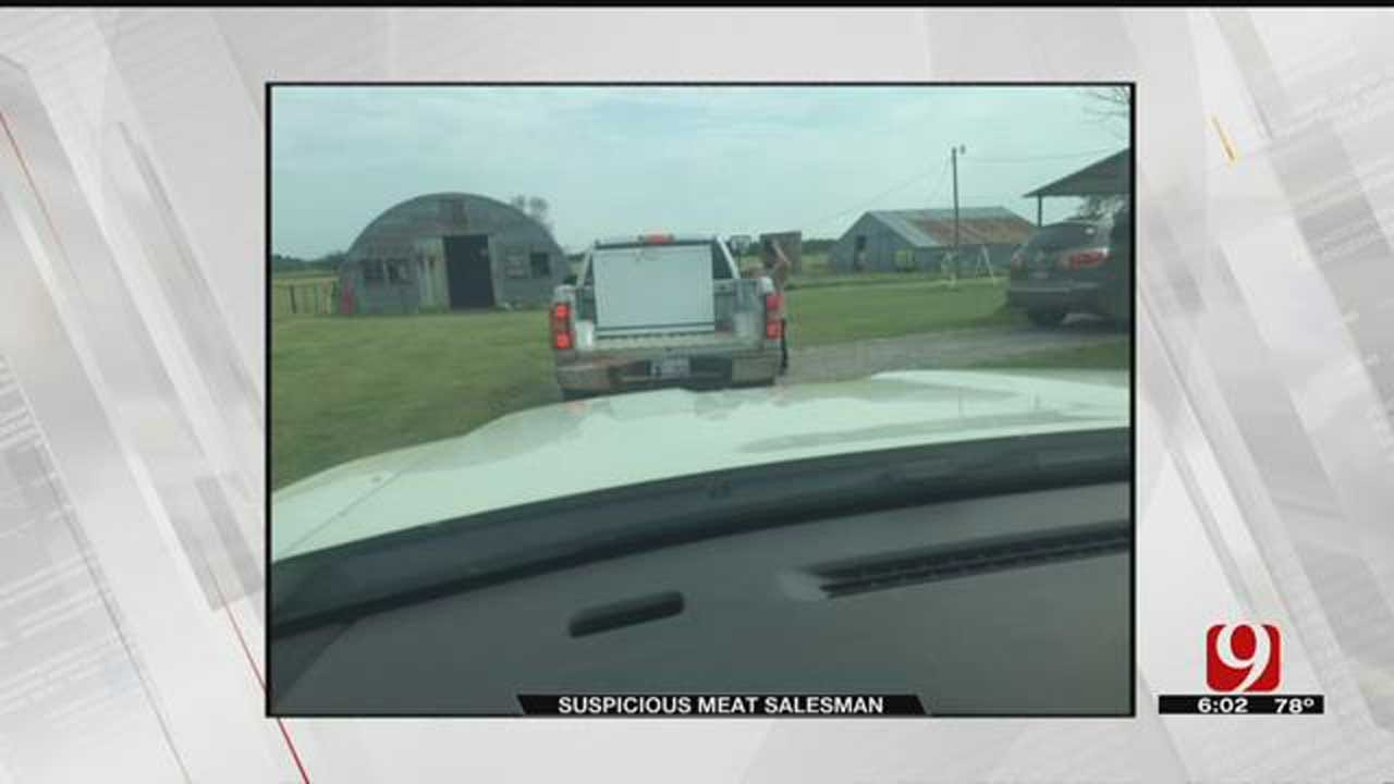 Kingfisher Co. Sheriff's Office Warns Residents Of Suspicious Salesman