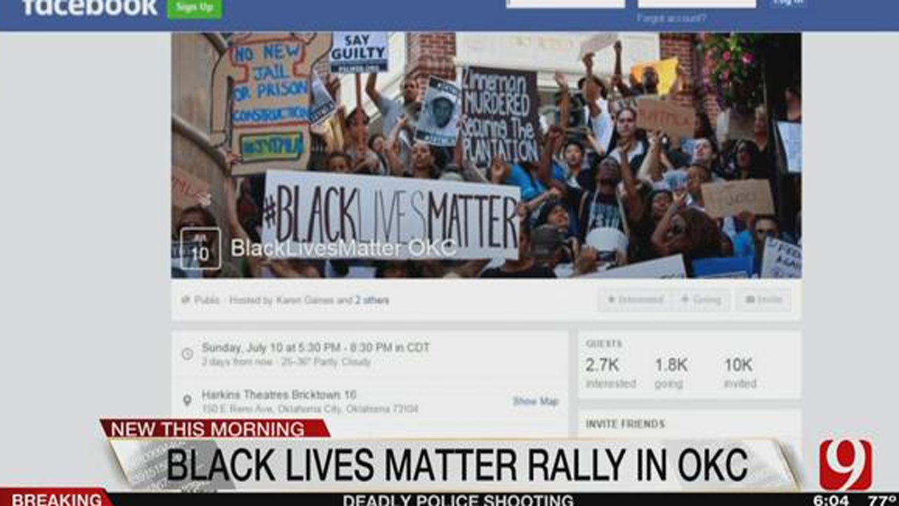 """Black Lives Matter"" Event To Be Held In Bricktown"