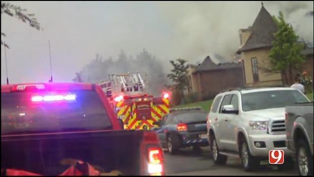 Officials: Lightning Sparks House Fire In Edmond