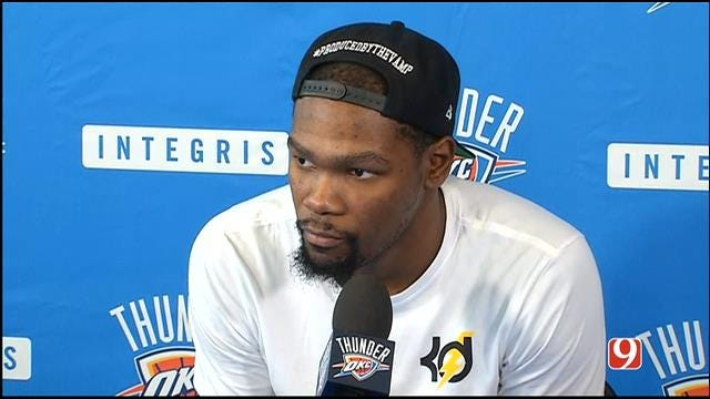 Thunder Players Go Through Exit Interviews