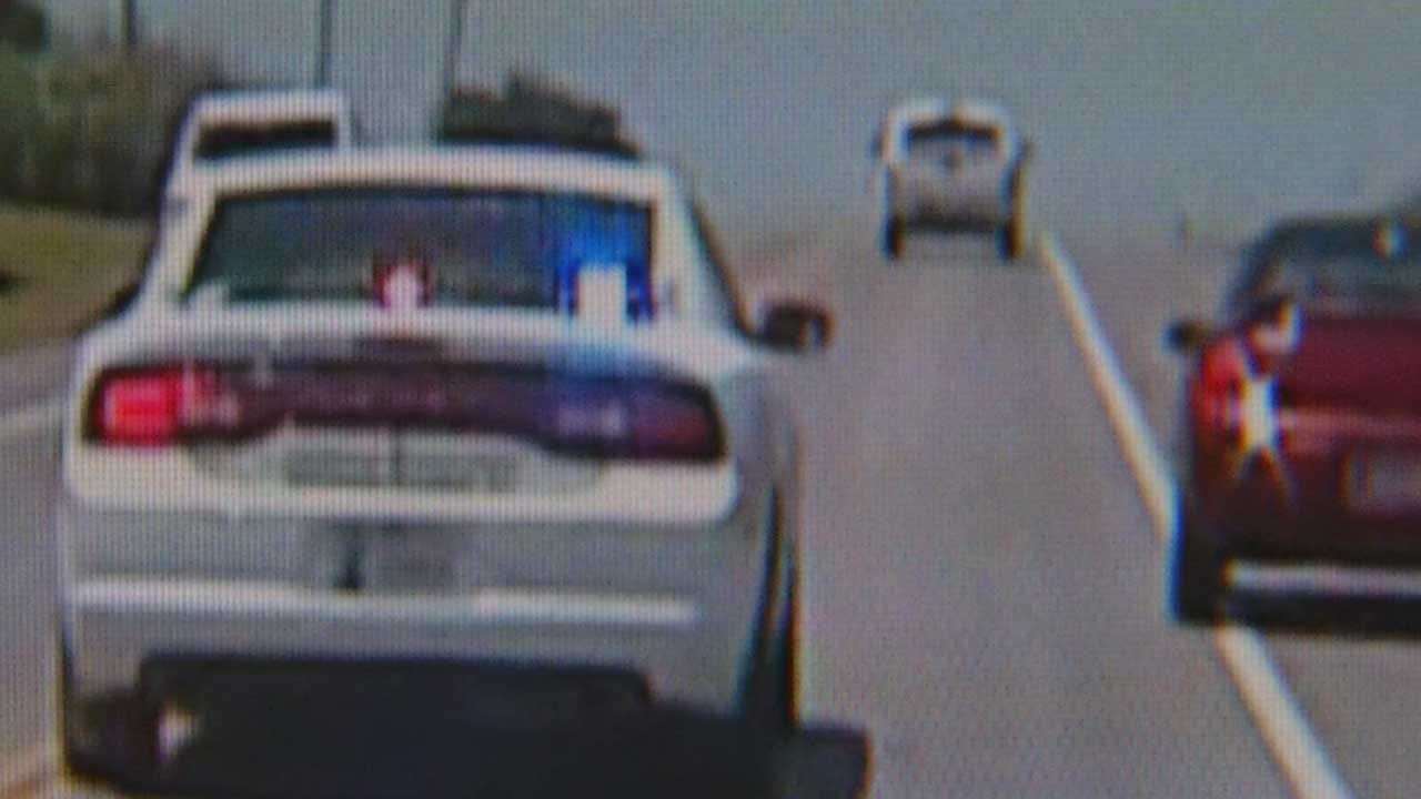 Grady Co. Authorities Release Dash Cam Video Of Wild Chase