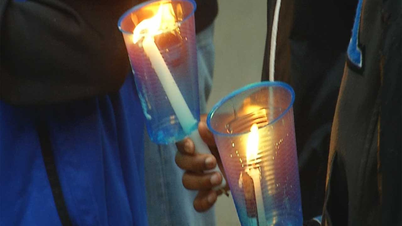Friends, Family Gather To Remember 16-Year-Old Killed In MWC Shooting
