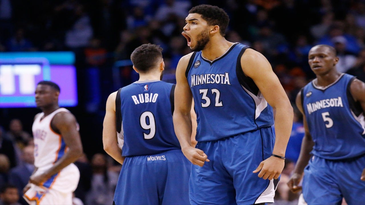 Rubio's Game-Winner Lifts T'Wolves To Upset Win