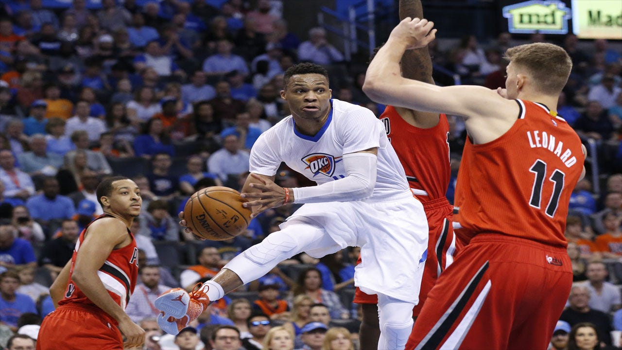 Pummeling Portland: Thunder Roll Past Blazers Behind Westbrook's 12th Triple-Double
