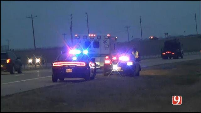 Suspect Arrested In OKC After Leading Authorities On Chase In Stolen Ambulance