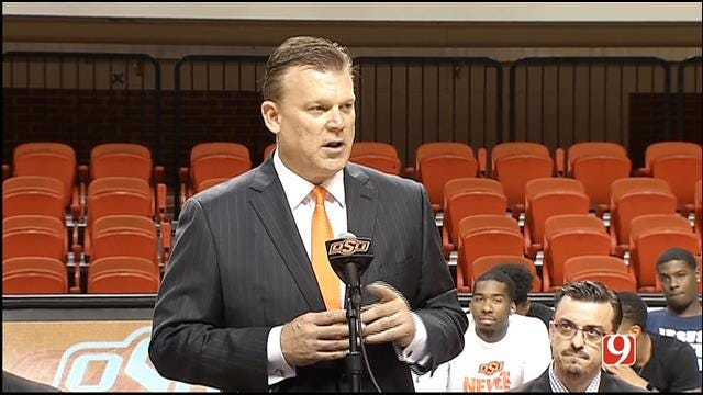 Brad Underwood Introduced At Oklahoma State