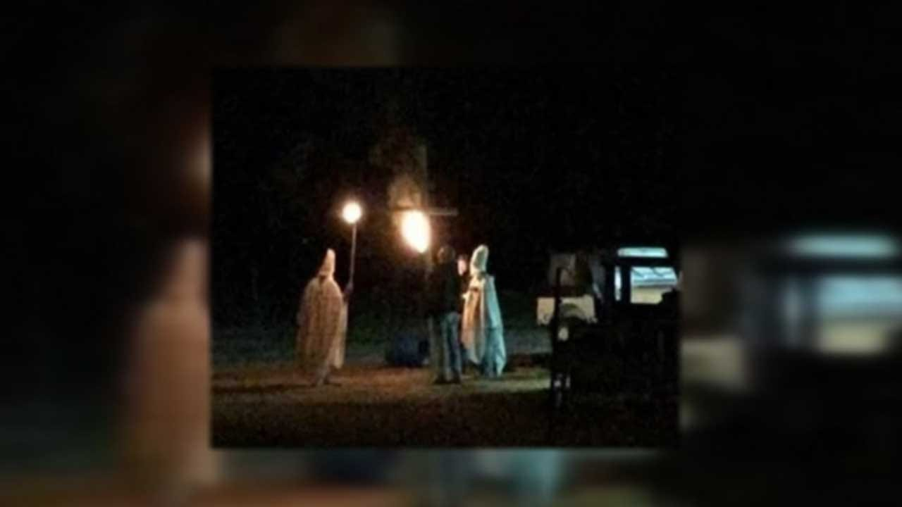 Former Lahoma Police Chief Files Lawsuit After KKK 'Prank' Incident
