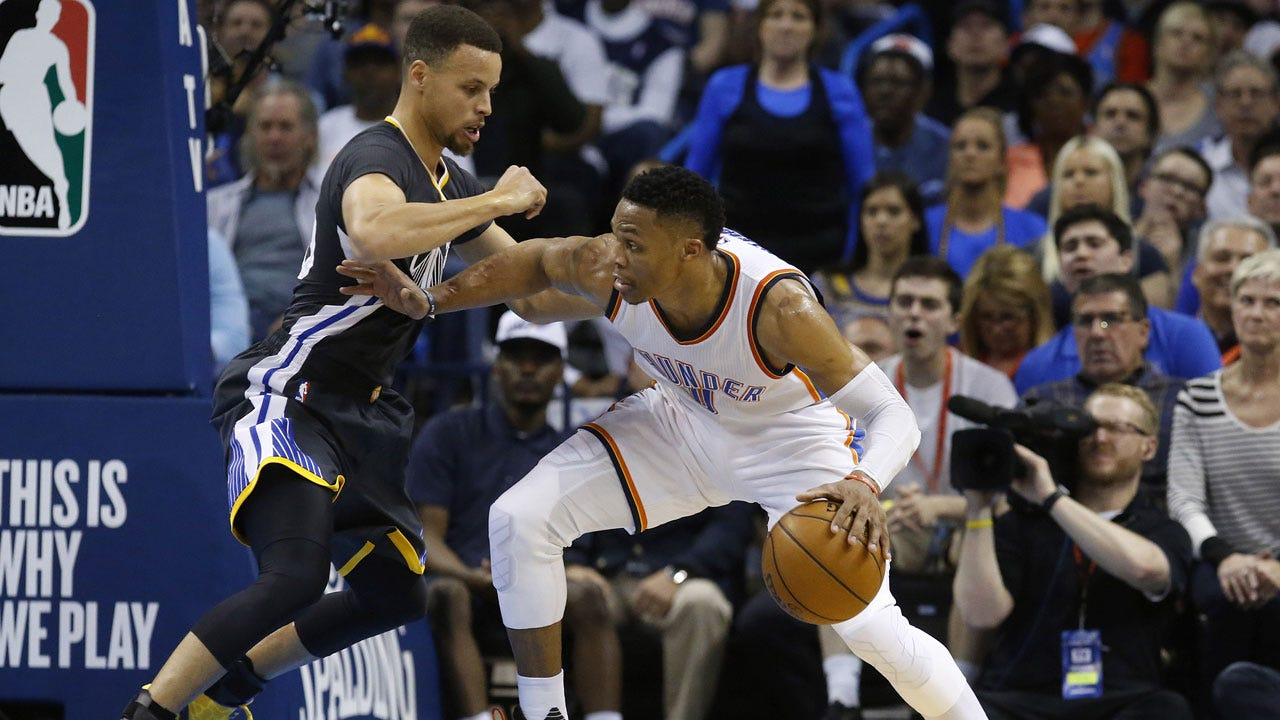 Thunder Social Scene: Warriors Host Game 1 of WCF