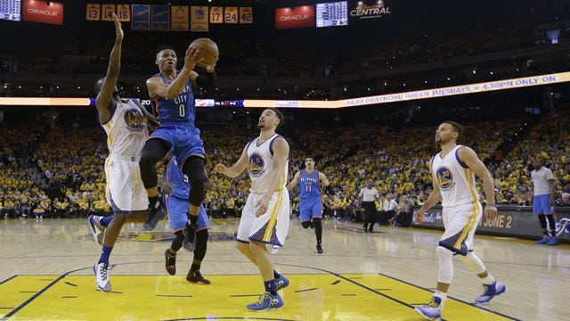 Thunder vs. Warriors: What A Game 2 Win (Or Loss) Would Mean