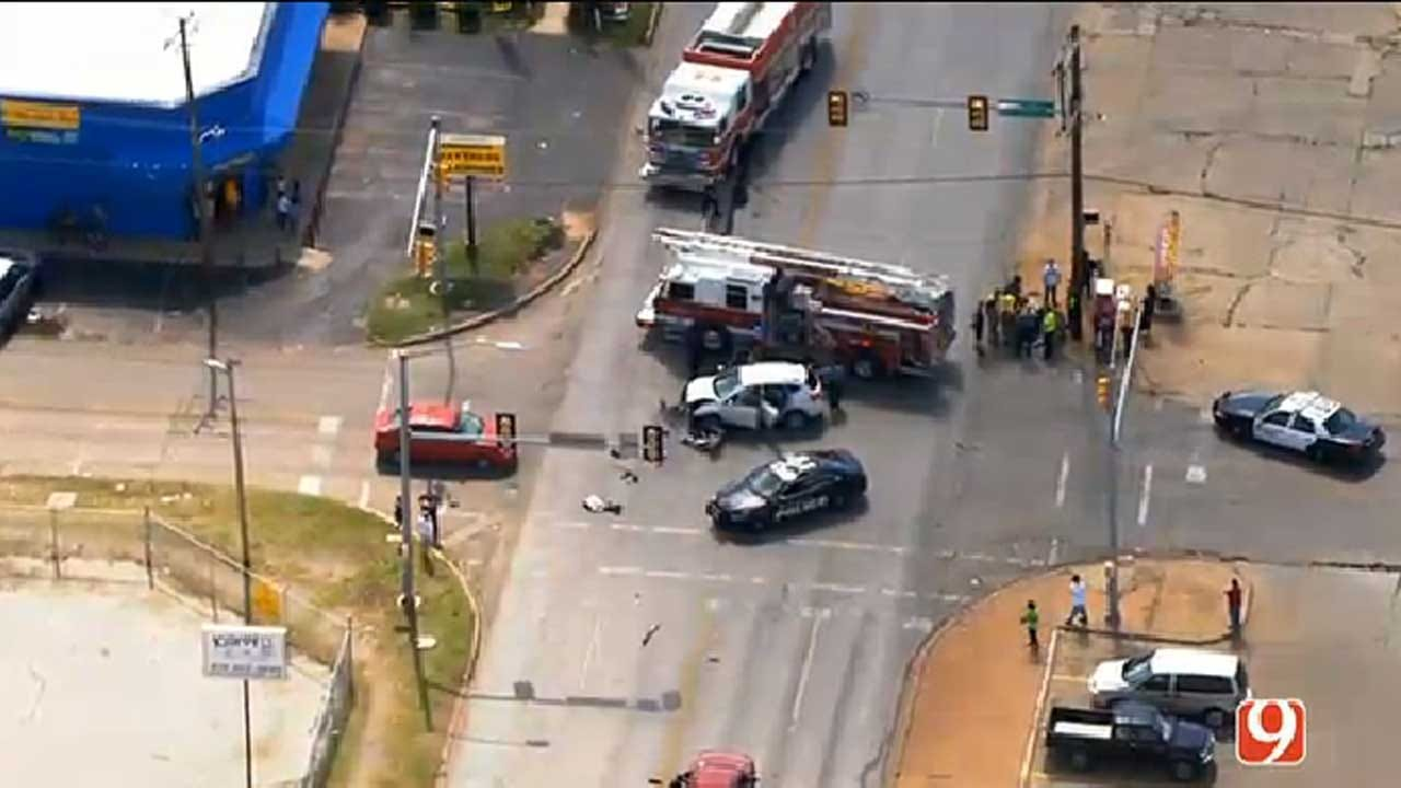 Emergency Crews Responding To Injury Crash In SW OKC
