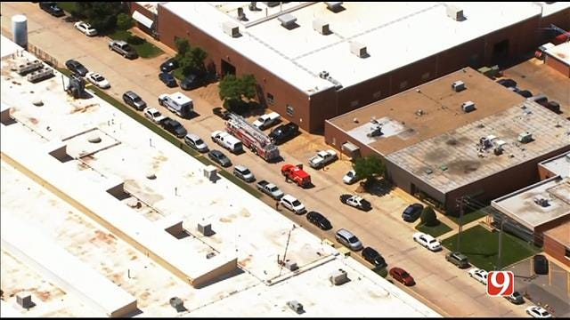 One Injured After Industrial Accident At NE OKC Manufacturing Plant