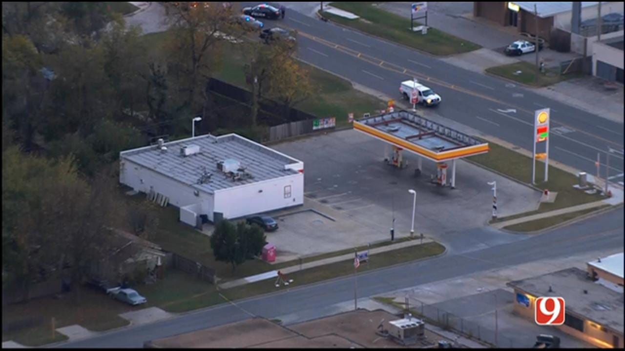 Suspicious Device Starts Fire In Trash Can, Prompts Evacuation In NW OKC