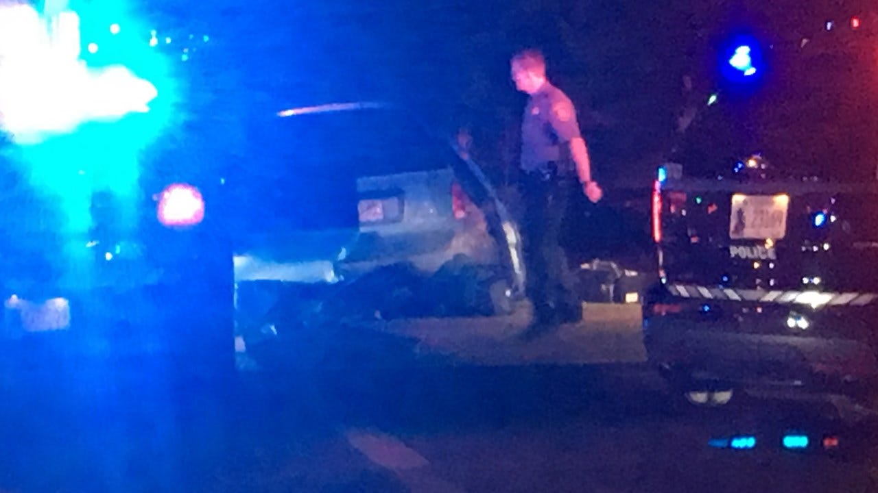 Two Arrested, One In Hospital After Police Chase Ends In Crash In NW OKC