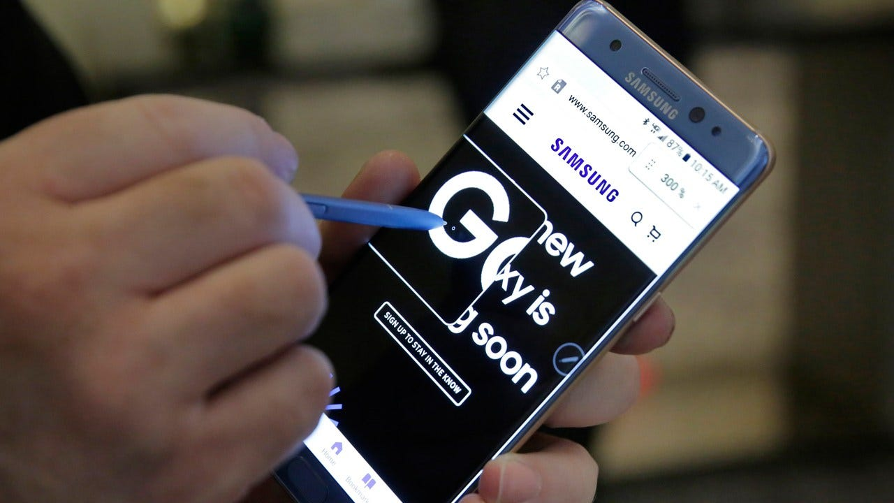 Samsung: Replacement Galaxy Note 7s Coming Wednesday