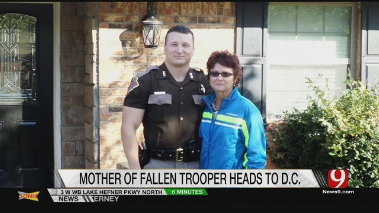 Mother Of Fallen OHP Trooper Takes Cause To Washington