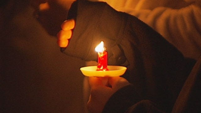 Candlelight Vigil Held In Honor Of Enid Infant Found In Dumpster