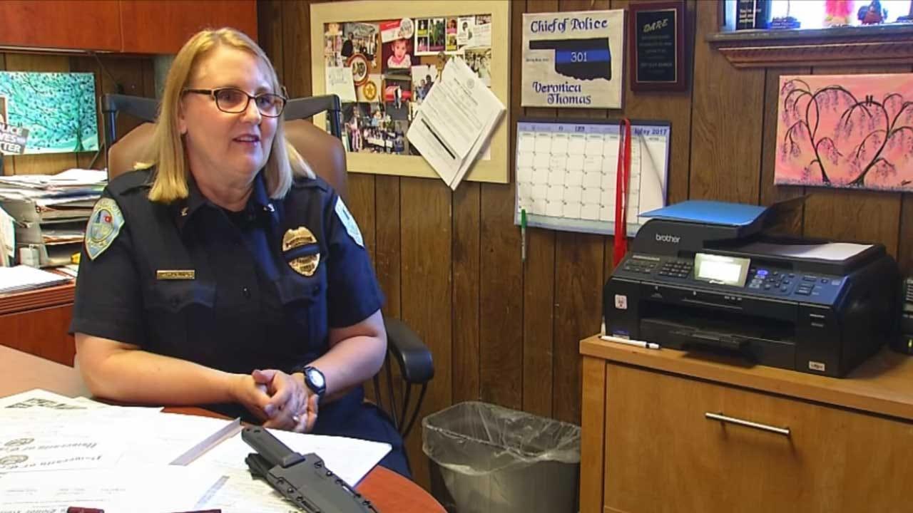Cashion Police Chief Remembers Fallen Logan County Deputy