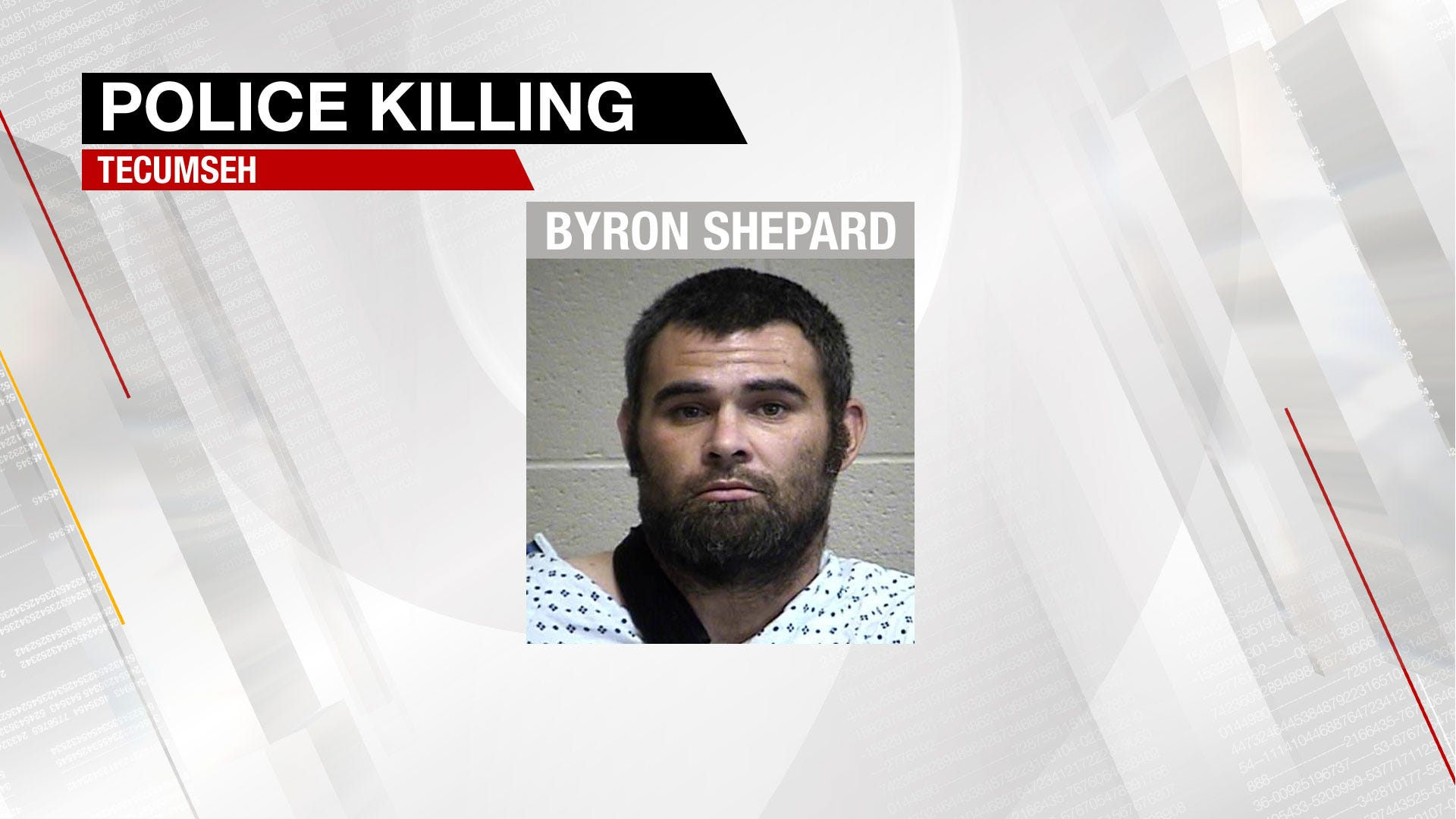 Suspect In Tecumseh Police Killing Now In Jail