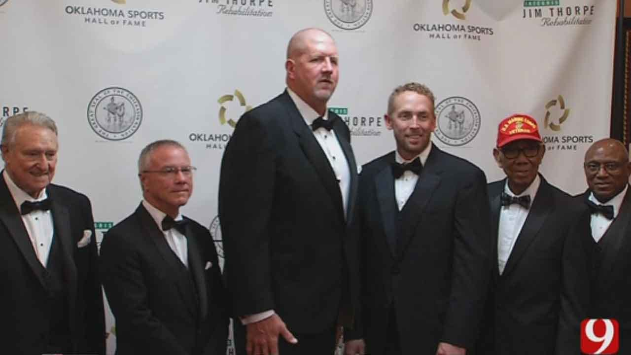 Oklahoma Sports Hall Of Fame Inducts Class of 2017