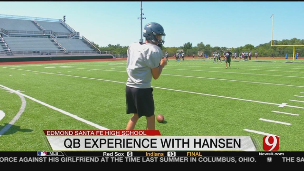 Hansen Mans Quarterback Position For Edmond Santa Fe