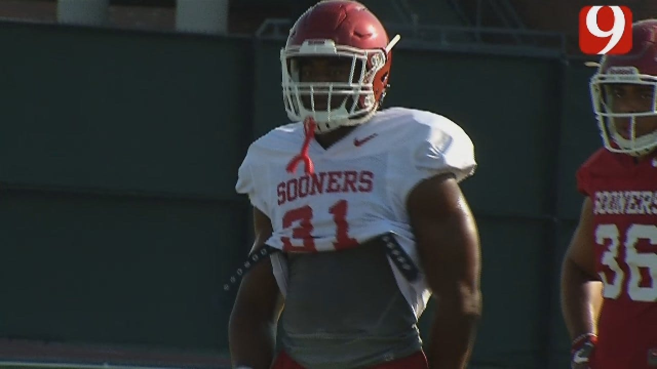 Sights And Sounds From Thursday's OU Football Practice