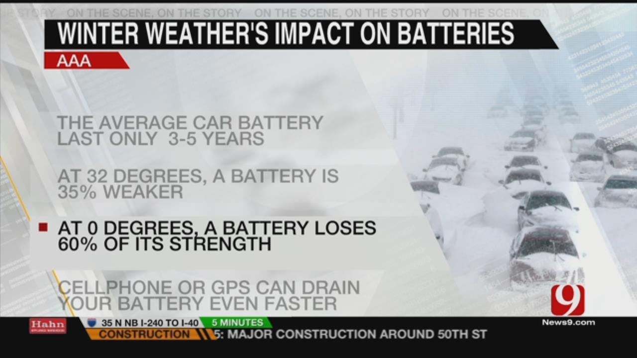 Be Prepared When Lower Temps Affect Cars And Batteries