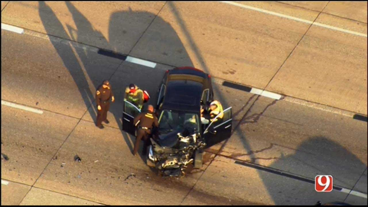 Emergency Crews Responding To Multi-Vehicle Crash In NW OKC