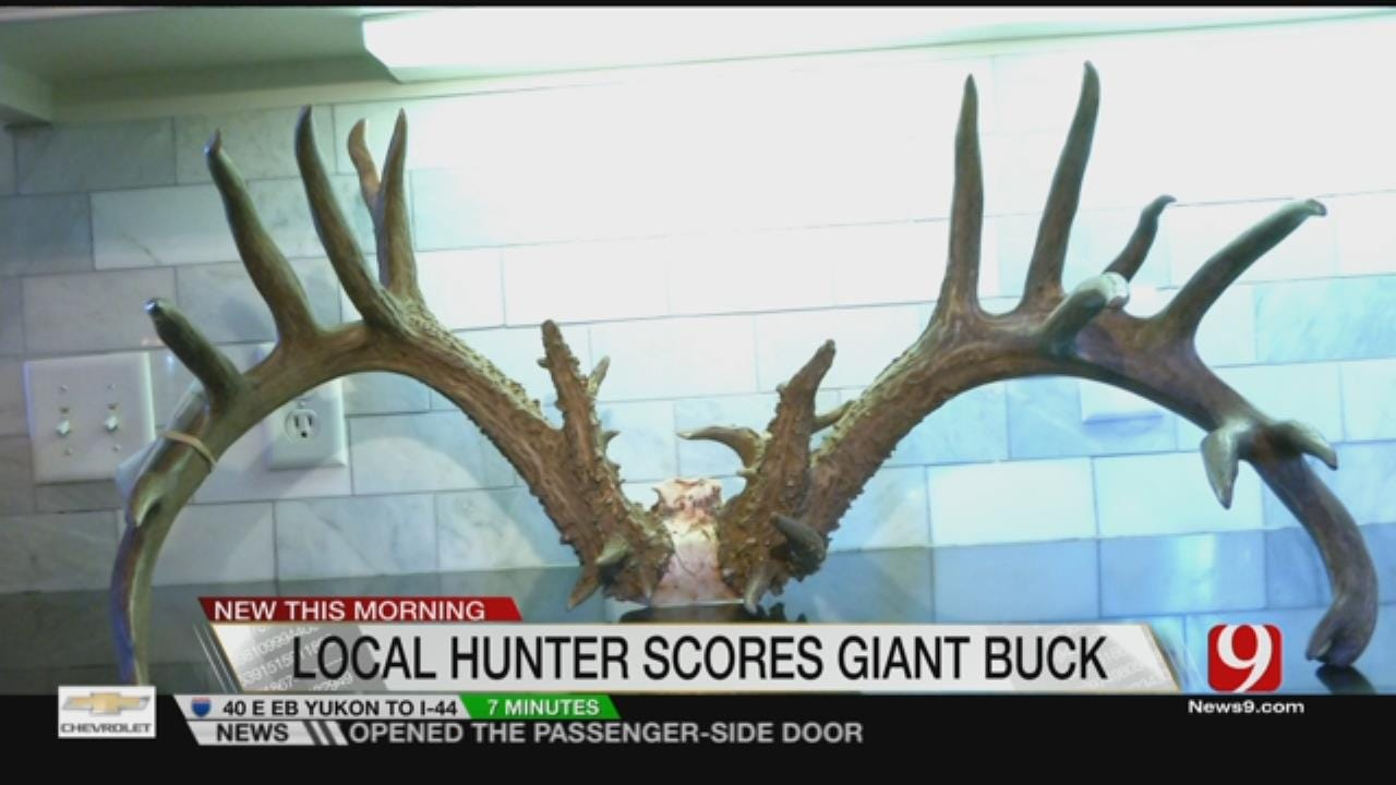 Edmond Man's Buck May Have Broken State Record