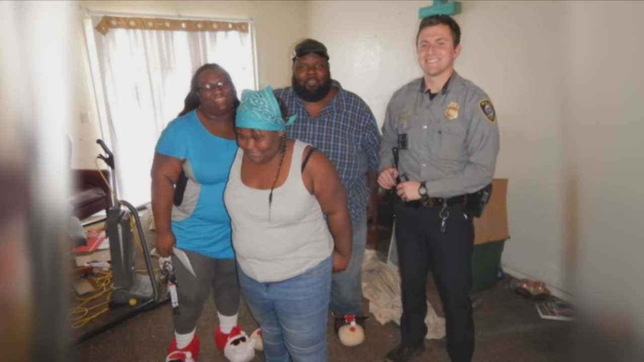 Special Gift Brings Christmas Cheer To Metro Family After Burglary